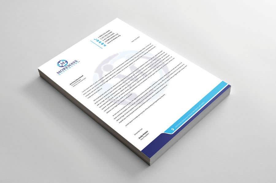 Bài tham dự cuộc thi #                                        55                                      cho                                         Design A4 Letterhead
