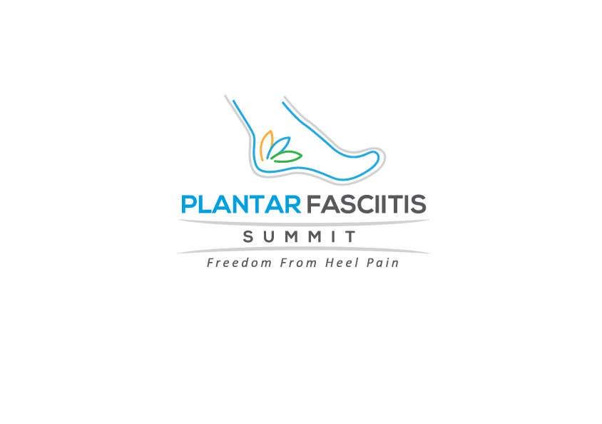 Bài tham dự cuộc thi #                                        61                                      cho                                         Plantar Fasciitis Summit Logo