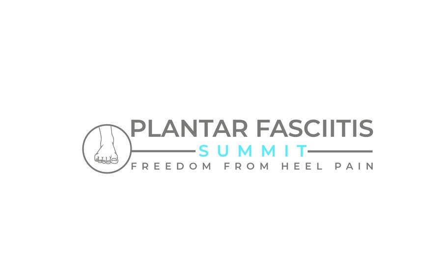 Bài tham dự cuộc thi #                                        75                                      cho                                         Plantar Fasciitis Summit Logo