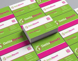 #450 for Detox Benefit - Business Cards by suhelrana016363