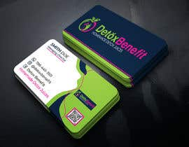 #453 for Detox Benefit - Business Cards by Jannatul093