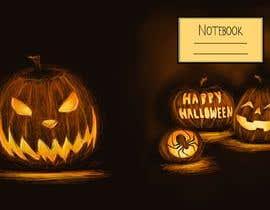 #35 para Need Halloween Cover for  Notebook Designed por RebecaBeatriceB