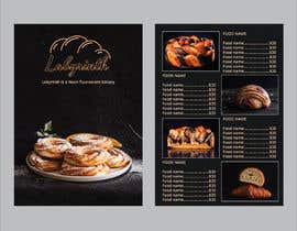 nº 284 pour Bakery catalogue menu for the company name Labyrinth par debsomadder
