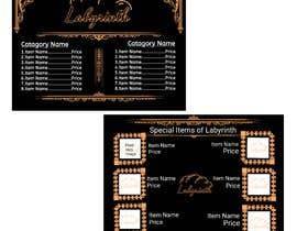 #285 cho Bakery catalogue menu for the company name Labyrinth bởi Sahakash100