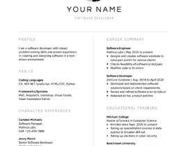 #17 cho I need 2 Academic CV format bởi tonmoy61pls