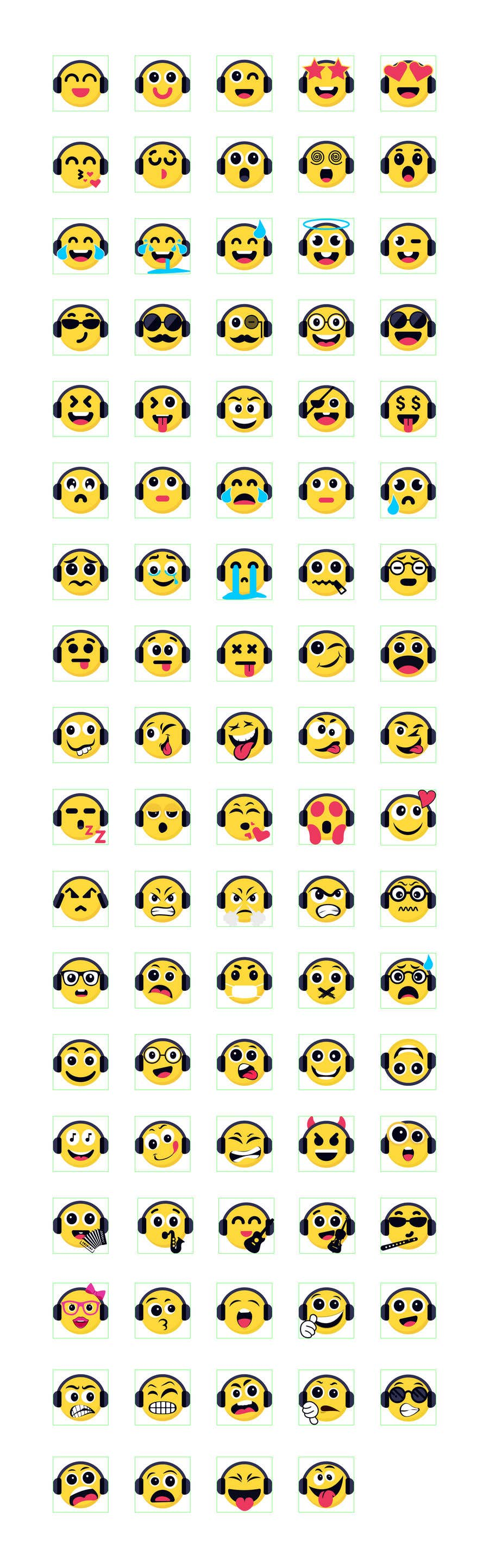 Bài tham dự cuộc thi #                                        197                                      cho                                         Design custom emojis for a YouTube-channel's membership program