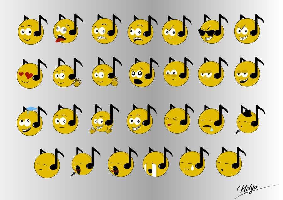 Bài tham dự cuộc thi #                                        124                                      cho                                         Design custom emojis for a YouTube-channel's membership program