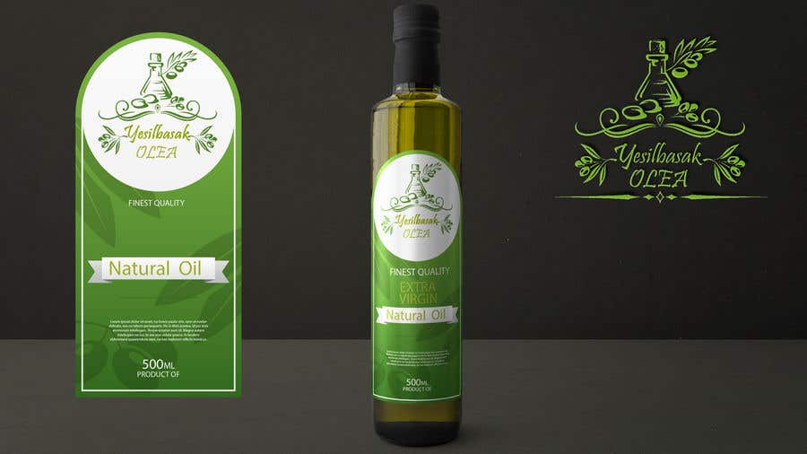 Proposition n°                                        144                                      du concours                                         Olive Oil Bottle Logo