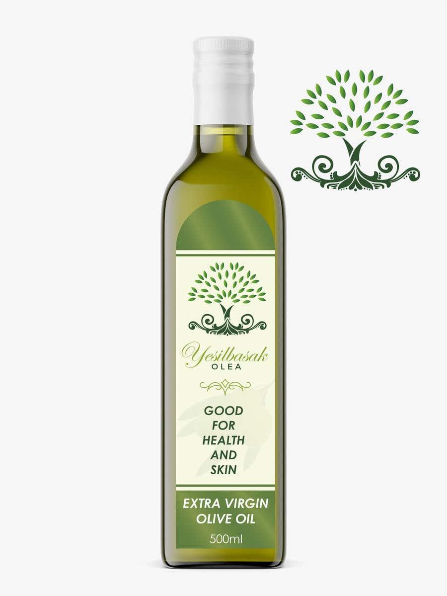Proposition n°                                        155                                      du concours                                         Olive Oil Bottle Logo