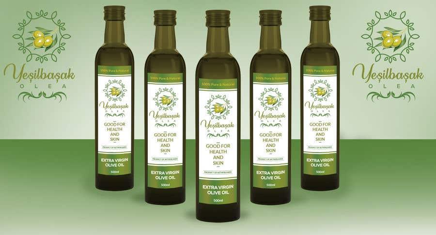 Proposition n°                                        124                                      du concours                                         Olive Oil Bottle Logo