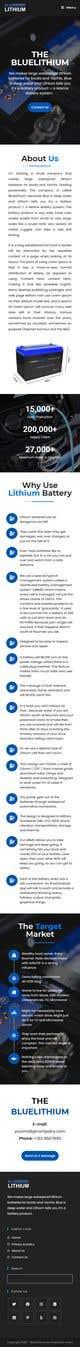 Ảnh thumbnail bài tham dự cuộc thi #                                                24                                              cho                                                 Explainer Website for Marine Battery startup product
