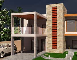 #88 para Home design, architecture design for two homes in a village one is 150 m, and the second one is 170 m por skyarslan1