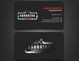 #1062 for BUSINESS CARD DESIGN FOR PLUMBING & GAS COMPANY af PreetySignature