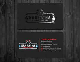 #623 for BUSINESS CARD DESIGN FOR PLUMBING & GAS COMPANY af Nure12