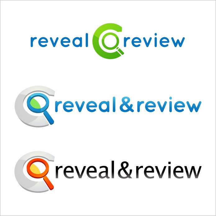 #127 for Logo Design for my online busines - Reveal and Review by nole1