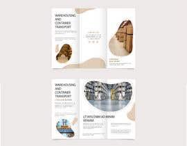 Nro 21 kilpailuun Design a brochure for warehousing and logistic Company käyttäjältä mayaXX