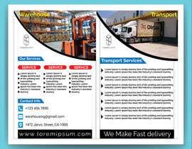 Nro 67 kilpailuun Design a brochure for warehousing and logistic Company käyttäjältä imdadtarek
