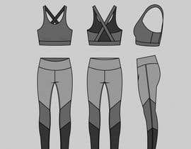 #20 for design a sports bra and leggings for my activewear line by sonuchha128