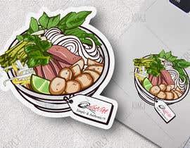 nº 12 pour 2 QUICK ILLUSTRATIONS: Cartoon Vietnamese Iced Coffee & Vietnamese Pho Bowl par KimGFX