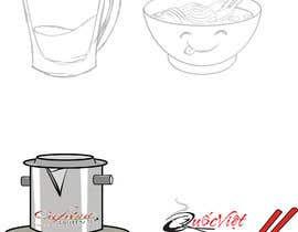 nº 10 pour 2 QUICK ILLUSTRATIONS: Cartoon Vietnamese Iced Coffee & Vietnamese Pho Bowl par Denisdean