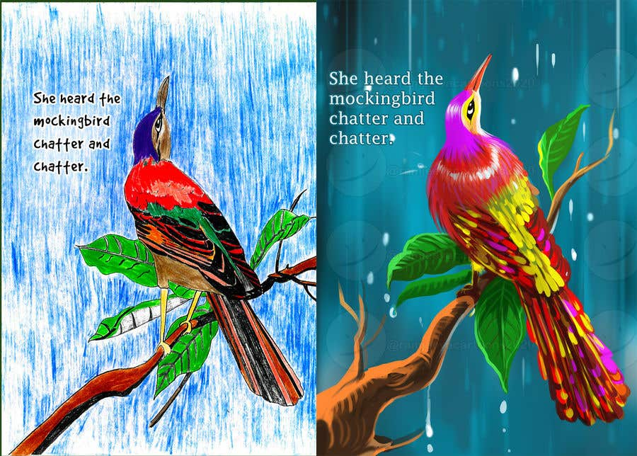 Penyertaan Peraduan #                                        13                                      untuk                                         Childrens Book and Puzzle Illustration Recreations