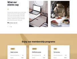 #45 untuk Fresh and modern website for EvoLux relaunch oleh mnabeelahmad22