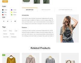 mdnomanparvej tarafından Re design my product page için no 24