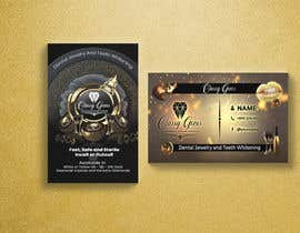 #24 untuk Finish the business card for classy gems, Edit templates included. oleh reekrabu0