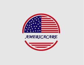 #18 for A simple logo with American Flag behind. Logo name: Americacare by skatbgd