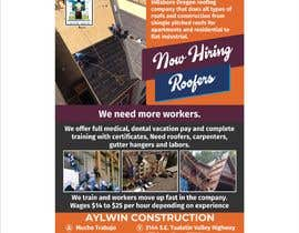 #32 for Need brouchere for hiring roofers by jpasif