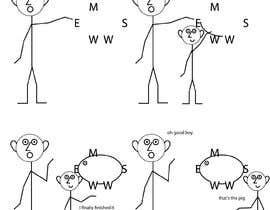 xoeluiz tarafından We need four  2D Simple Character Animations for Children, Trial part of a Long Term Project... için no 7