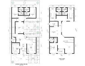nº 42 pour Build me 2D Floor Plan for 2 Floor house! par muftiakbar