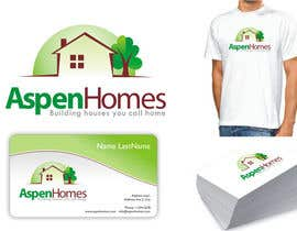 DesignMill tarafından Logo Design for Aspen Homes - Nationally Recognized New Home Builder, için no 984