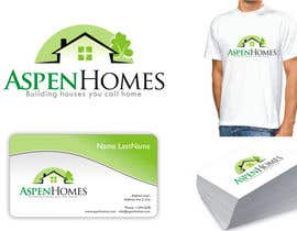 DesignMill tarafından Logo Design for Aspen Homes - Nationally Recognized New Home Builder, için no 1025