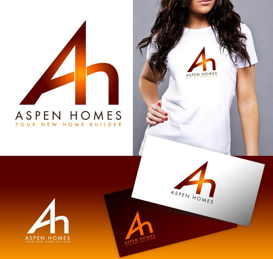 Bài tham dự cuộc thi #                                        269                                      cho                                         Logo Design for Aspen Homes - Nationally Recognized New Home Builder,