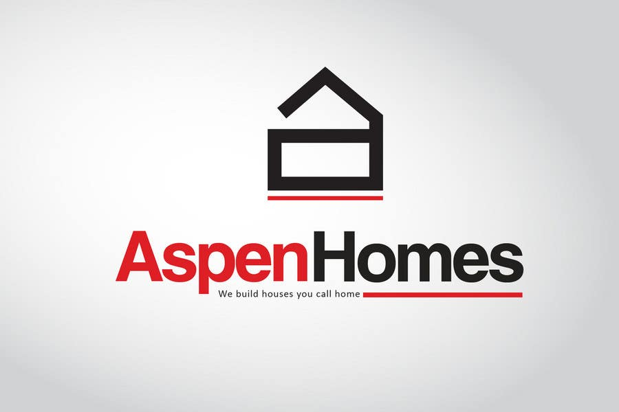 Bài tham dự cuộc thi #                                        384                                      cho                                         Logo Design for Aspen Homes - Nationally Recognized New Home Builder,