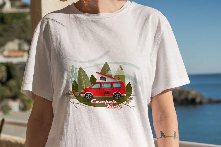 Penyertaan Peraduan #                                        38                                      untuk                                         Camper King Merchandise