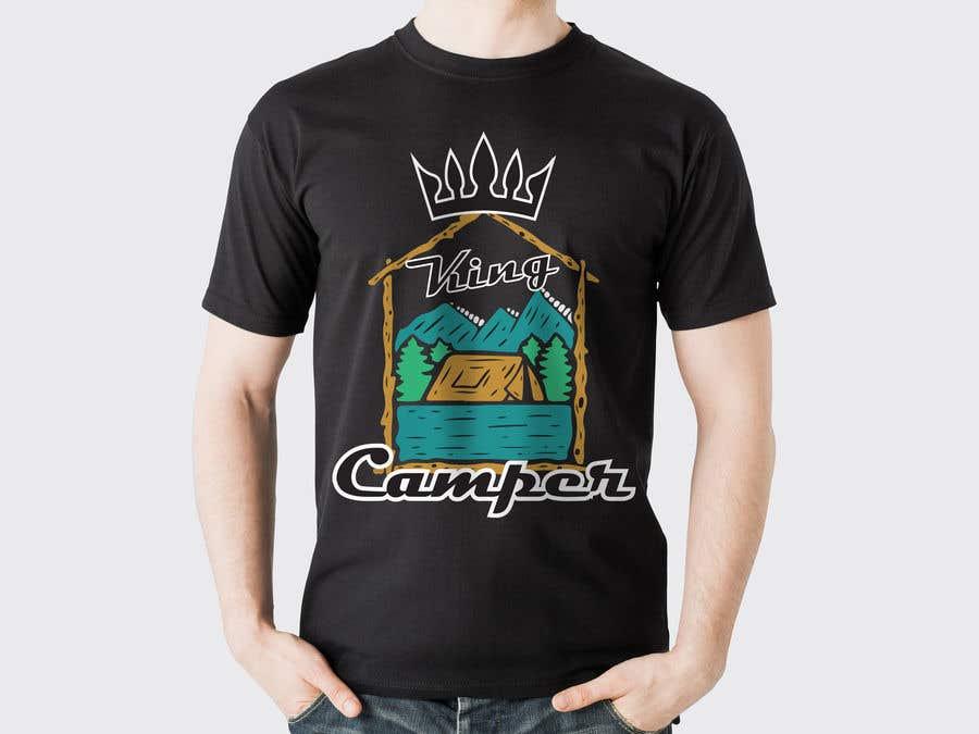 Konkurrenceindlæg #                                        40                                      for                                         Camper King Merchandise