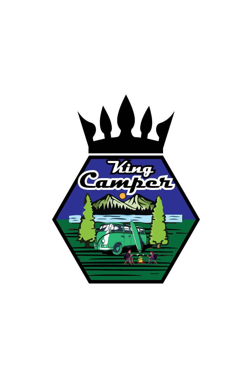 Penyertaan Peraduan #                                        138                                      untuk                                         Camper King Merchandise