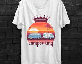 #192 for Camper King Merchandise af Tituaslam