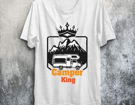 #193 for Camper King Merchandise af Tituaslam