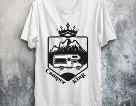 #195 for Camper King Merchandise af Tituaslam