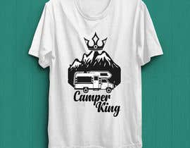 #196 for Camper King Merchandise af Tituaslam