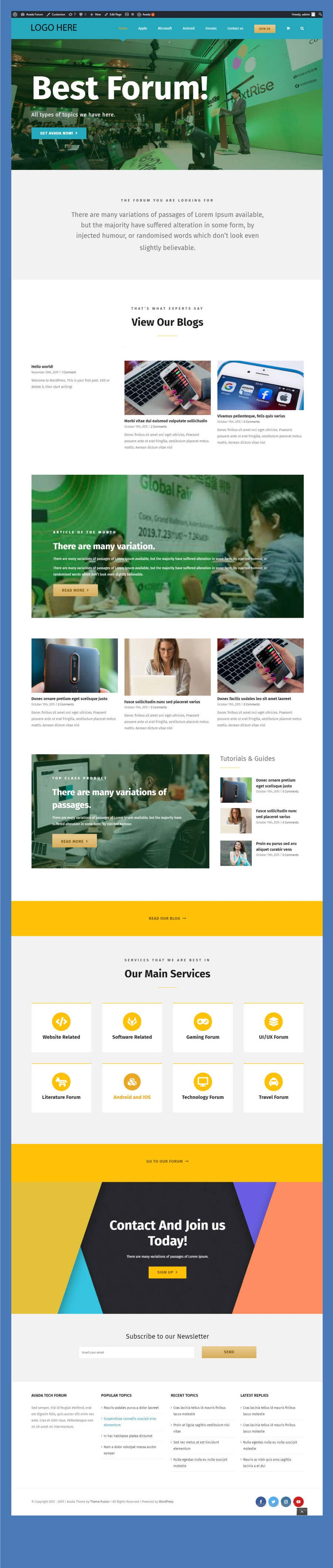 Contest Entry #                                        94                                      for                                         Re-create A Website For A Non Profit Organization
