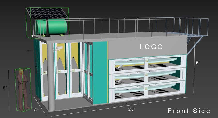 Penyertaan Peraduan #                                        20                                      untuk                                         Design a Surfboard Locker for the Sharing Economy