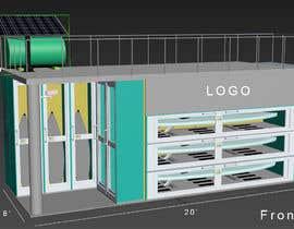 #20 untuk Design a Surfboard Locker for the Sharing Economy oleh ptriantafillis