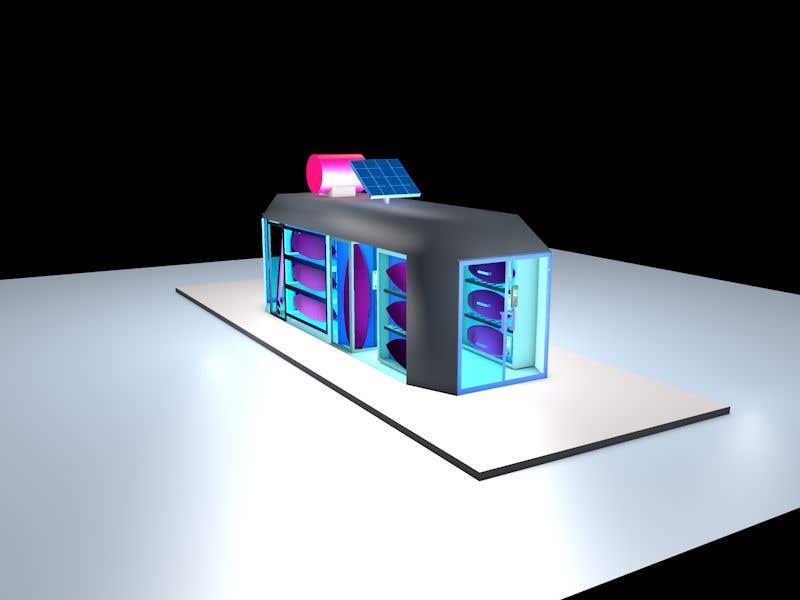 Penyertaan Peraduan #                                        30                                      untuk                                         Design a Surfboard Locker for the Sharing Economy