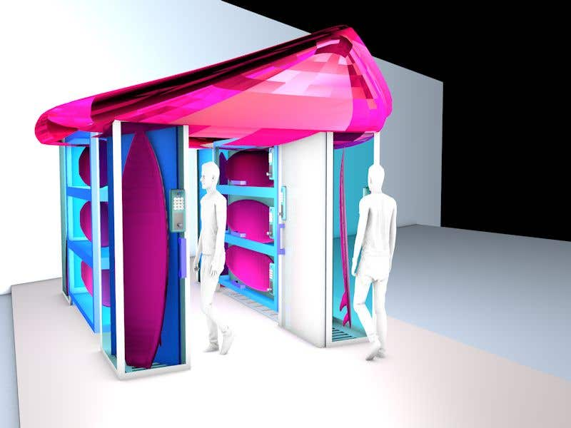 Proposition n°                                        32                                      du concours                                         Design a Surfboard Locker for the Sharing Economy