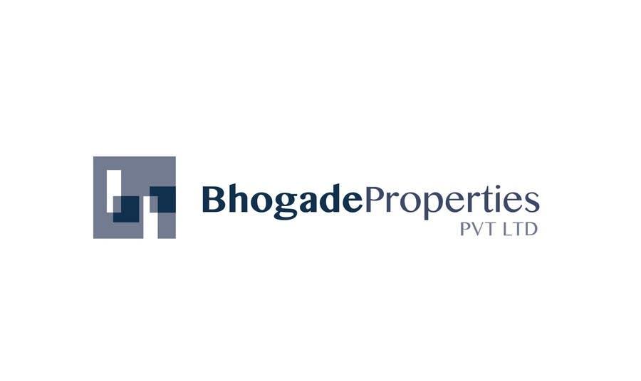 Bài tham dự cuộc thi #                                        10                                      cho                                         Logo Design for Bhogade Properties Pvt. Ltd.
