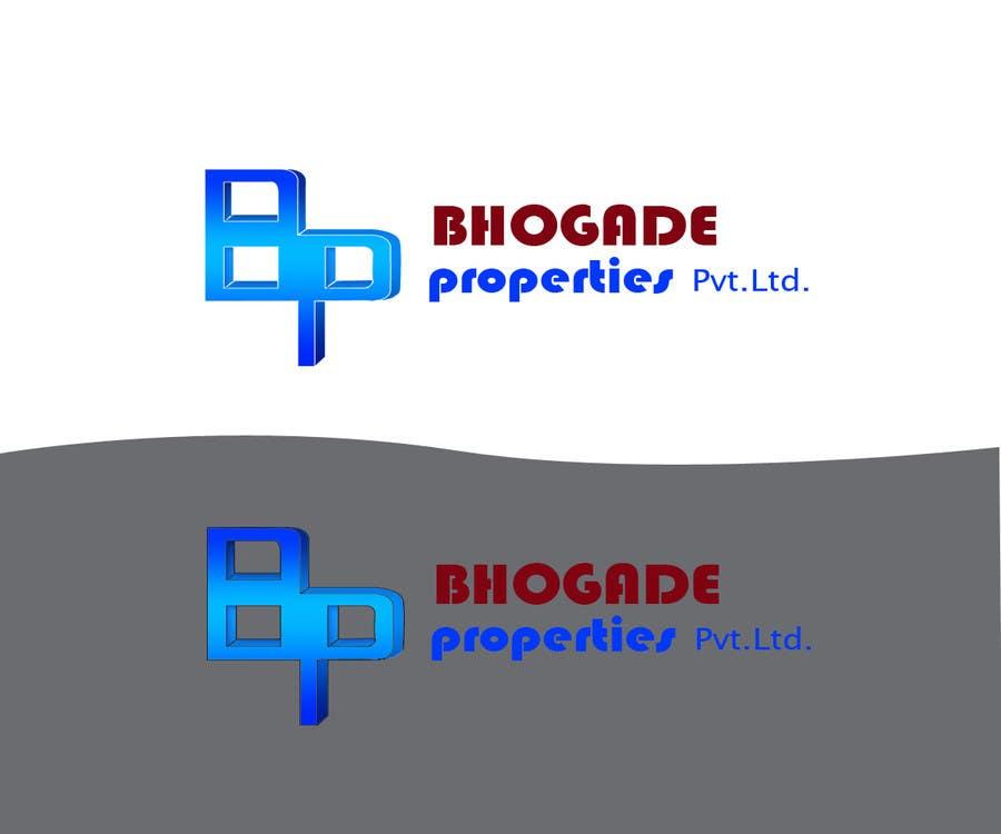 Bài tham dự cuộc thi #                                        24                                      cho                                         Logo Design for Bhogade Properties Pvt. Ltd.